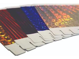 Pulseras Holograficas Impre. Laser - Importadas/imprentas