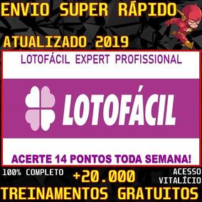 Curso Lotofácil Expert Profissional 2019 + 20m Brindes
