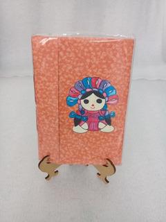Libreta Cuaderno Origami Chica Ecológica Regalo Papiroflexia