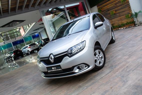 Renault Logan 2 Privillege Nafta 2019 Plateado