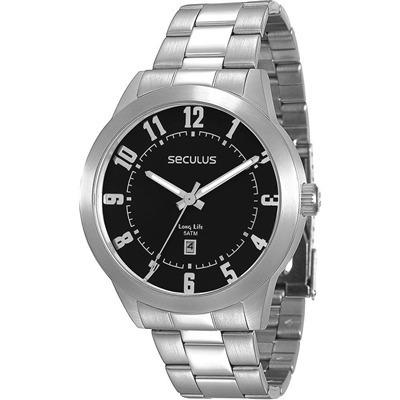 Relógio Seculus Prata 28692g0svna1 Original Barato Vitrine
