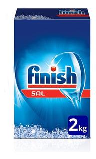 Sal Para Lavavajilla Caja 2kg Finish Original Ablandar Agua