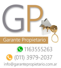 Garante Propietario / Garantias Para Alquilar 1163555263