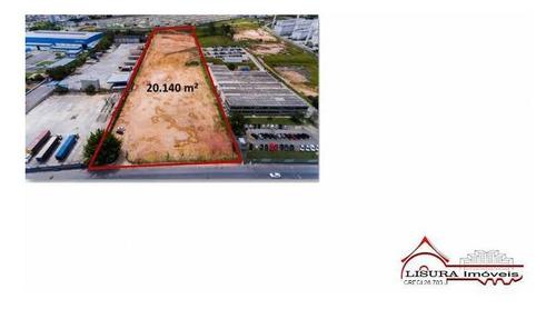 Área De 20.140 M² Jd Luiza Jacareí Sp Para Venda Próximo Sjc - 5820