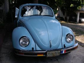 Vw1991 Vocho Sedan Motor Y Pintura Conservado Circula Diario