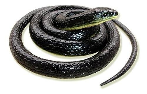 Serpiente De Juguete De Goma Falsa Realista Homdipoo Serpien