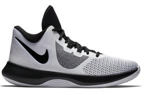 Tenis Masculino Nike Air Precision Ii Branco/preto