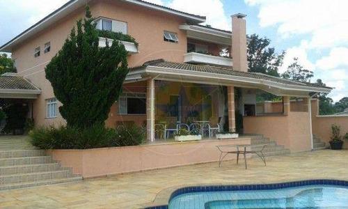 Casa À Venda, 420 M² Por R$ 1.600.000,00 - Usina - Atibaia/sp - Ca0346