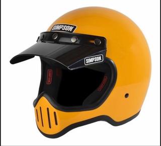 Casco De Moto Marca Simpson