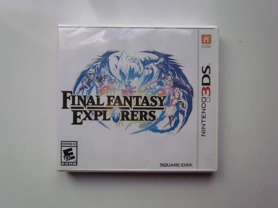 Jogo Novo Lacrado Final Fantasy Explorers Para Nintendo 3ds