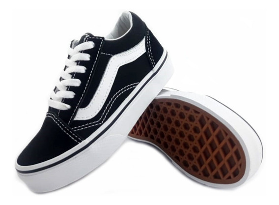 Zapatillas Vans Old Skool Urbana Niño W9t6bt Eezap