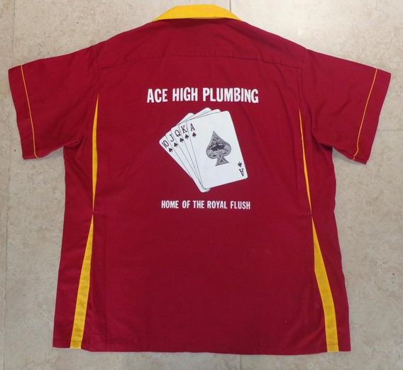 Padrisima Camisa Bowling Cruising Talla Xl