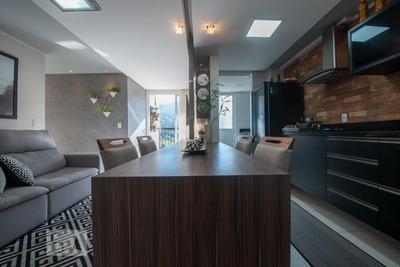 Apartamento No 7º Andar Mobiliado Com 2 Dormitórios E 1 Garagem - Id: 892916807 - 216807