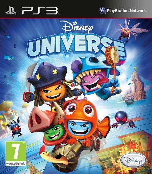 Jogo Original Novo Disney Universe Ps3 Midia Fisica Novo