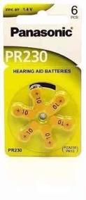 Bateria Auditiva Zinco Air Panasonic Pr230 Blister Com 6 Uni