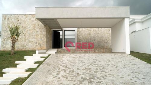 Bela Casa Com 4 Dormitórios À Venda, 390 M² Por R$ 2.500.000 - Condomínio Residencial Saint Patrick - Sorocaba/sp - Ca0372