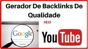 Gerador De Backlinks 2018 Lançamento