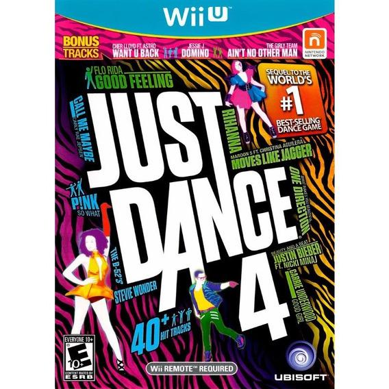Just Dance 4 Wii U Novo Lacrado