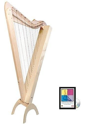 33 Cuerdas Grand Harpsicle Harp Book Dvd Maple ®