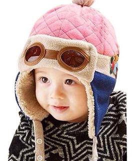 Gorro Aviador Bebé Niña