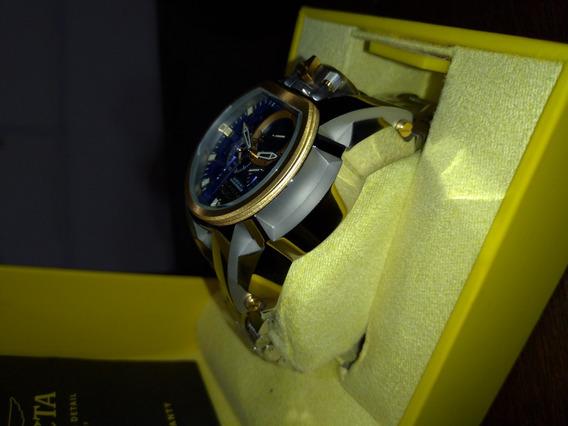 Relógio Invicta Zeus Reverse 20111 Prata Gold Suíço