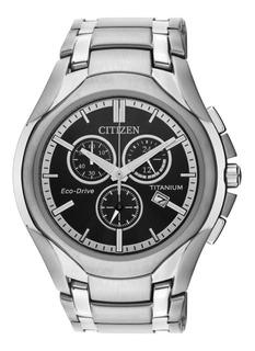 Reloj Hombre Citizen Titanio At0940-50f Agente Oficial M