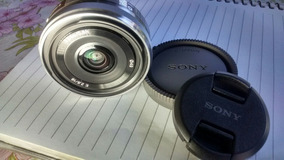 Lente Sony 16mm 2.8 E Mount