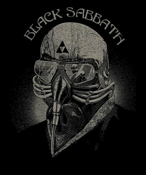 Backpatch Black Sabbath - Paranoid, Born Again, Never Say Di