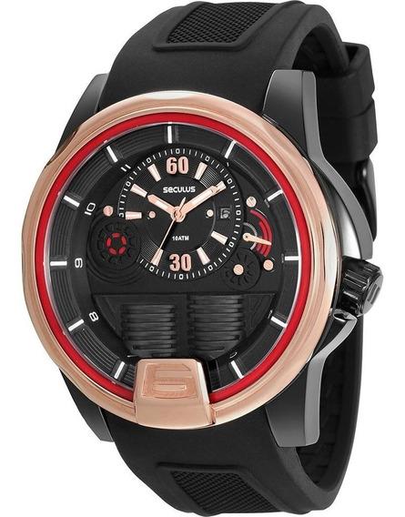 Relógio Masculino Seculus Analógico Esportivo 28655gpsviu2