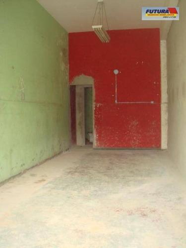 Loja Para Alugar, 30 M² Por R$ 1.500,00/mês - Centro - São Vicente/sp - Lo0014