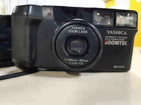 Câmera Analógica Máquina Fotográfica Yashica Zoomtec