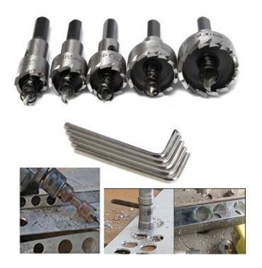 Broca Para Hacer Circulos En Metal 5 Pcs 1619222532mm