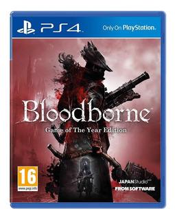 Bloodborne Goty Playstation 4