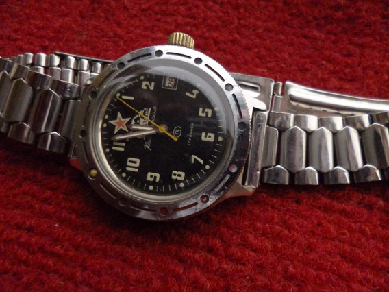 Relógio Vostok, Modelo Vintage, Made In Ussr