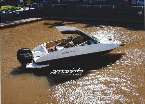 Imagen 1 de 12 de Lancha Amarinta 620 Cuddy Mercury 150 Hp 4t 2021 0 Hs