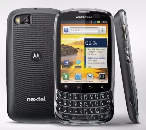 Nextel Motorola Xt605 (3g, Gps, Wi-fi) Novo De Vitrine