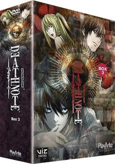 Dvd Box Death Note - 3 Discos