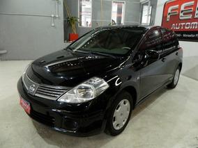 Nissan Tiida 1.8 6mt Visia 2010 Color Negro - Muy Buen Estad
