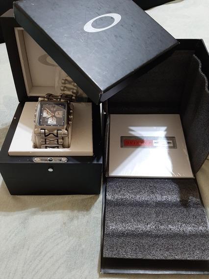 Relógio Oakley Minute Machine Primeira Geração Black Dial!