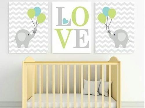 Cuadros Decorativo Para Bebe En Oferta Baby Shower