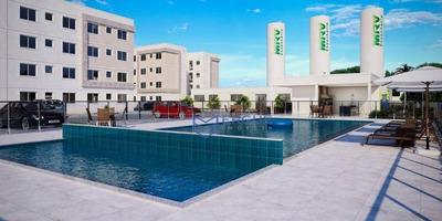 Apartamento Com 2 Dormitórios À Venda, Entrada A Partir De Zero Ou Em 60 Meses - Pajuçara - Maracanaú/ce - Ap0480