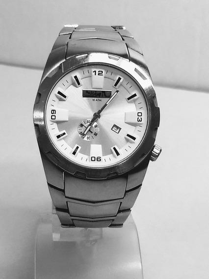 Relógio Quicksilver Analógico Prata Quartz