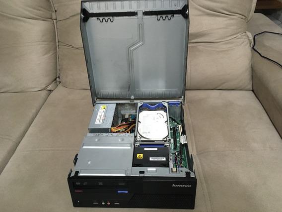 Cpu Lenovo M58p 8gb Ddr3 500gb Hd Core2 Quad Wifi M58