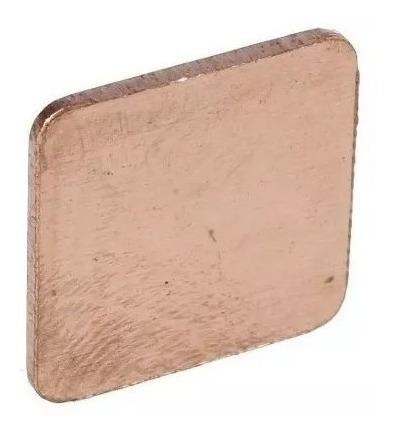 Chapa Cobre Thermal Pad Bga Cpu Notebook 1,5cmx1,5cmx1mm