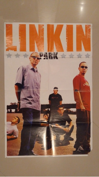 Poster Revista Linkin Park - 84 Cm X 55 Cm