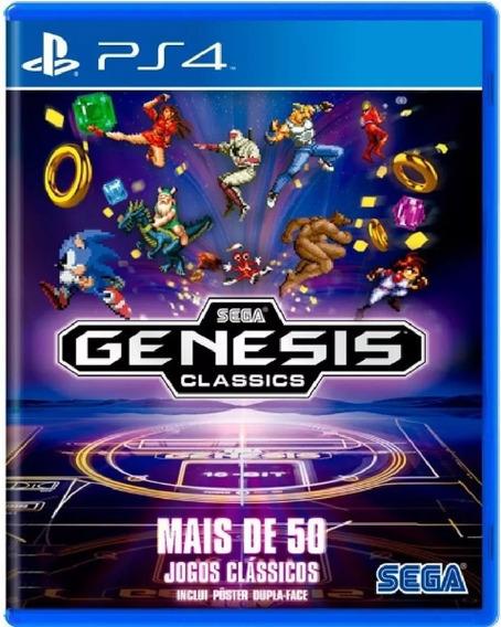 Sega Genesis Classics Ps4 Mídia Física Novo Lacrado