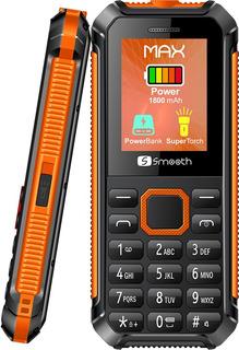 Celular Básico Smooth Max Batería 1.800 Mah Linterna Led