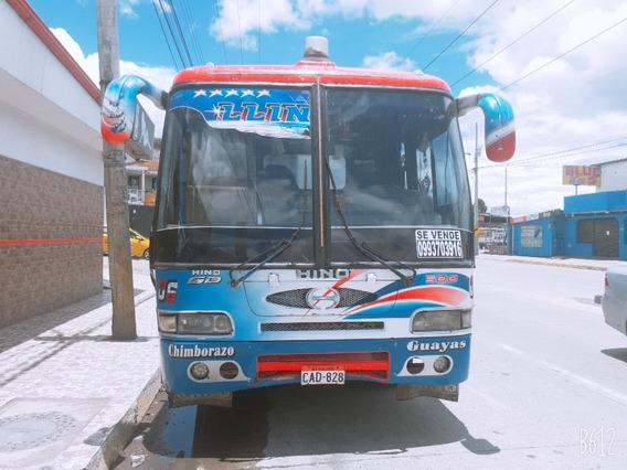 Bus Intraprovincial Color Azul
