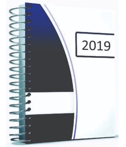 4 Agendas 2019 Capa Dura -sabado E Domingo Folha Inteira