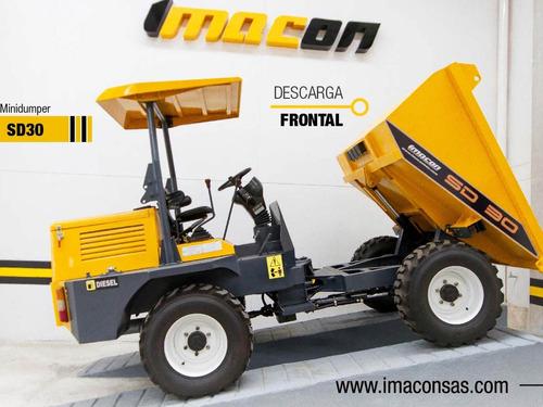 Mini Dumper,transporte De Material, Minidumper,mini Volqueta